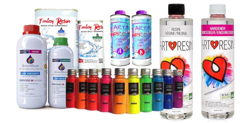 Comprar resina epoxi para manualidades de las mejores marcas
